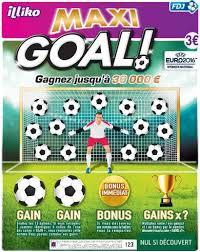 Le ticket à gratter Maxi Goal